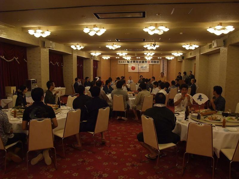 16.8月例会(OB交流納涼大会)を開催しました。 2
