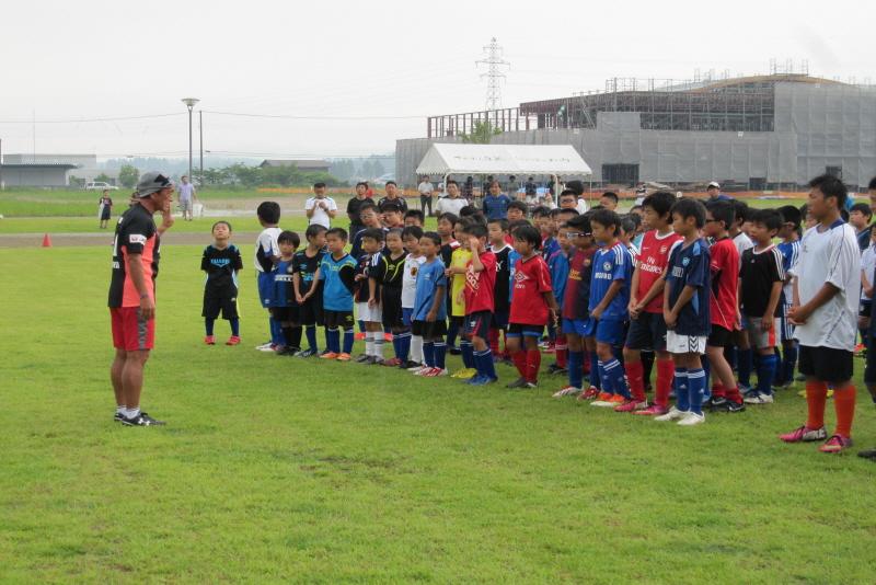 サッカークリニック 4