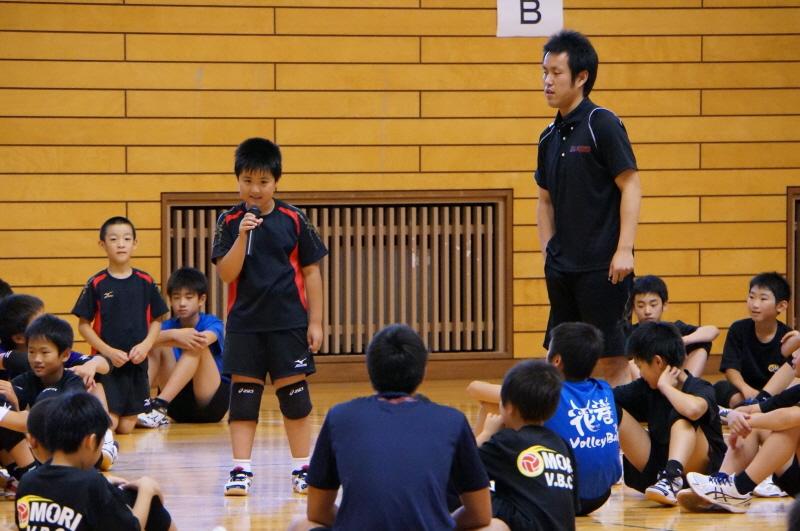7月例会「小学生バレーボールわか杉っ子大会」 11